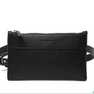 Calvin Klein Black Belt Bag